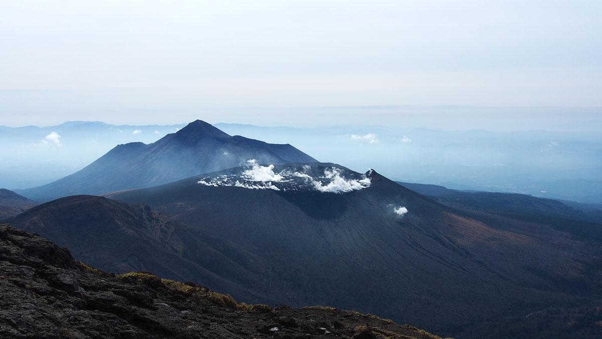 View from Shinmoedake