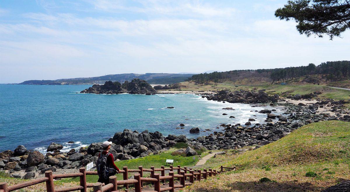 Hachinohe section of the Michinoku Coastal Trail
