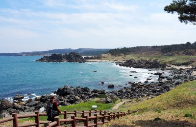 Hachinohe section of the Michinoku Coastal Trail