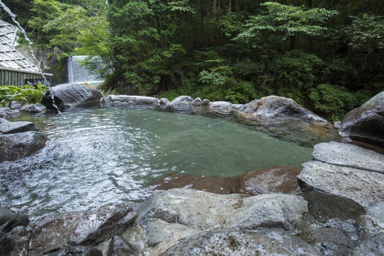 Rotenburo at Okunoyu