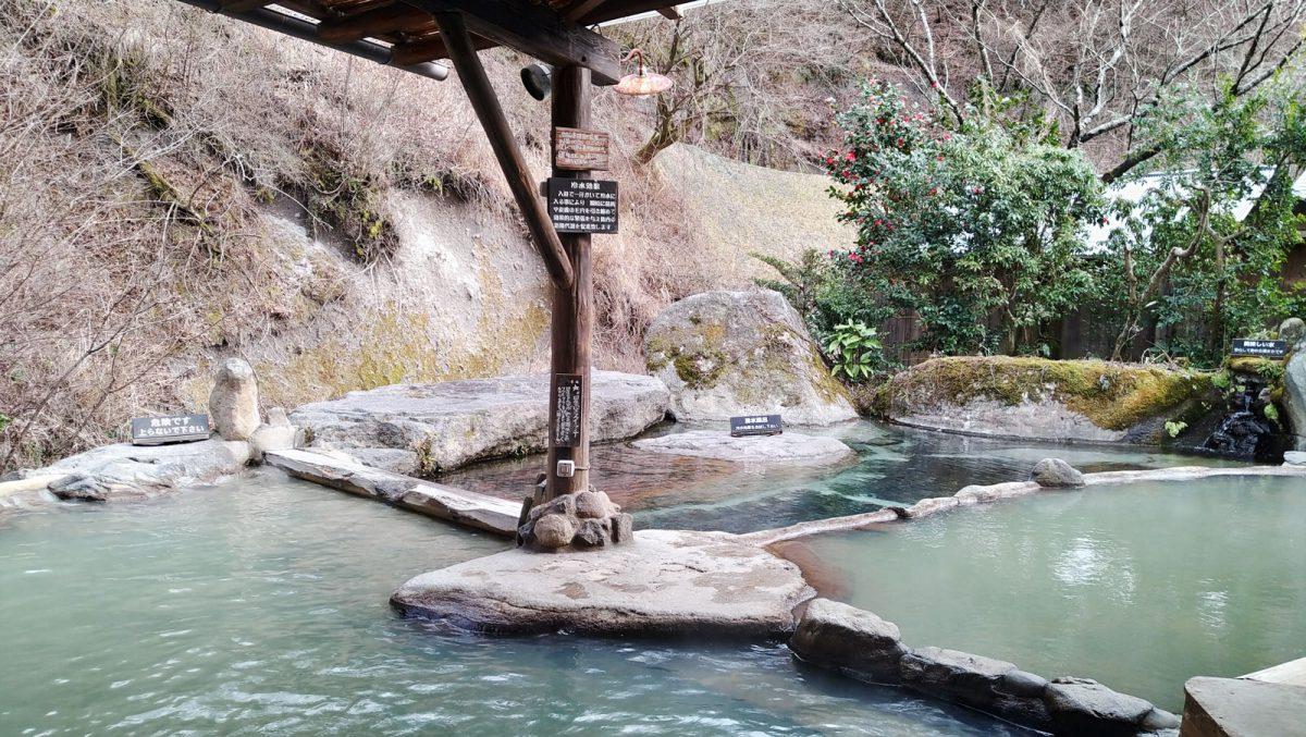 Hosantei rotenburo in Kurokawa Onsen