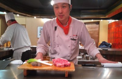 Wakana beef restaurant in Morioka